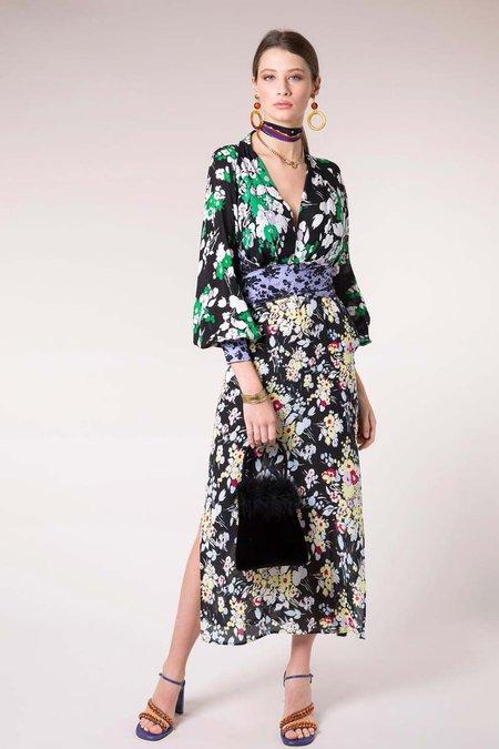 Rixo London Rixi Fedora Dress- 30's Bunch Floral