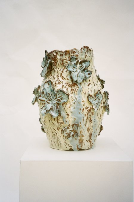 Jaye Kim Small Glazed Flower Vase