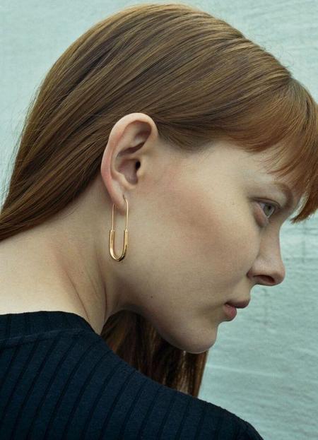 Maria Black Chance Mini Earring - Gold