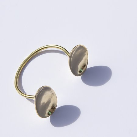 Seaworthy Zala Cuff - Brass