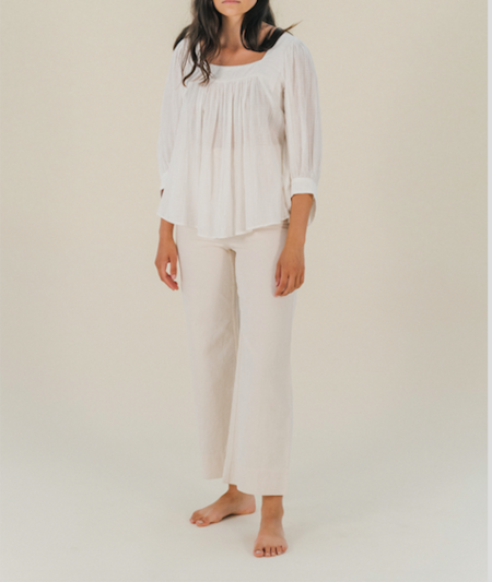 Apiece Apart Orchid Top - Cream