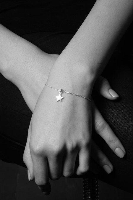 Meadowlark Star Charm Bracelet - Silver