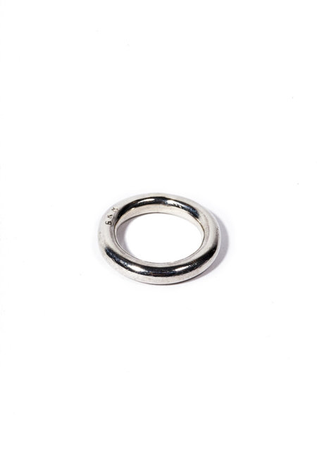 E.M. Kelly Solidity Ring - Sterling Silver