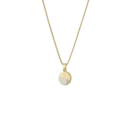 E.M. Kelly Yin Yang Necklace - GOLD