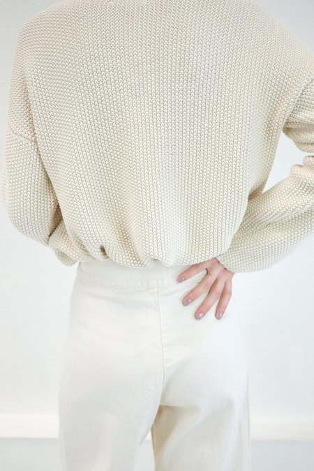 Micaela Greg Seed Sweater - Cream