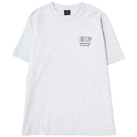 Born x Raised Wireframe 2 T-shirt - Heather Grey