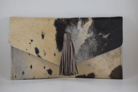 Krava Tassel Front Clutch - Black