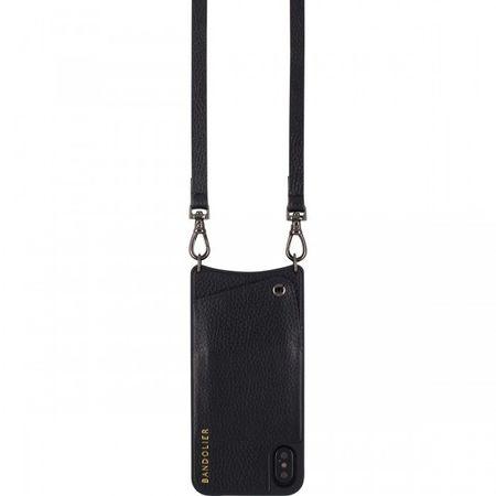 Bandolier EMMA IPHONE 8 - PEWTER/BLACK