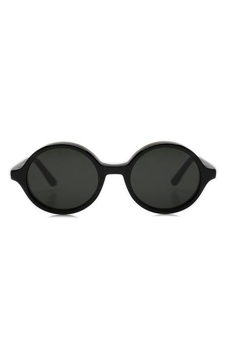 Unisex Han Kjobenhavn Sunglasses Doc - Black