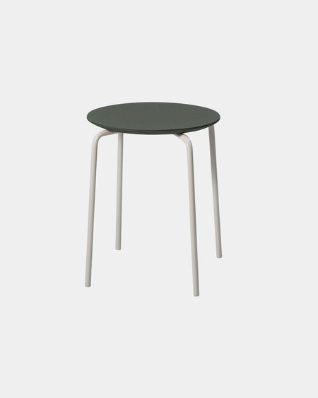 Ferm Living Herman Stool - Green/Light Grey