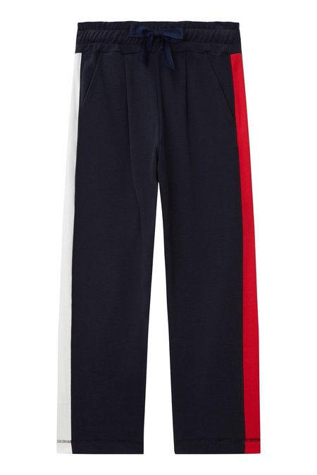 Chinti and Parker Side Panel Track Pants - Navy