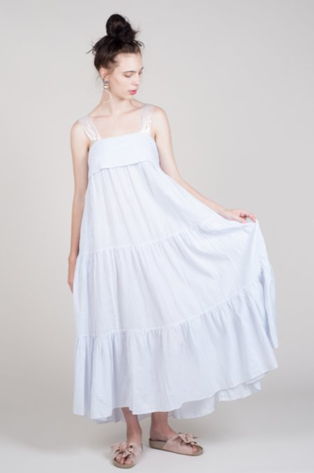 Ulla Johnson Bess Dress - Porcelain