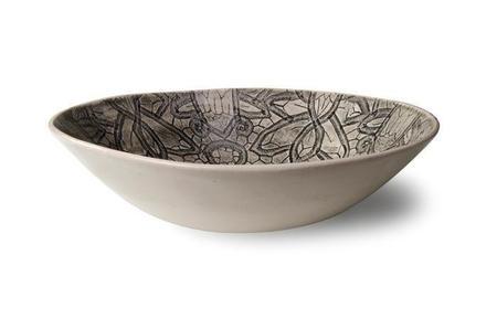STIL Lifestyle WONKI WARE Salad Bowl - Charcoal Lace