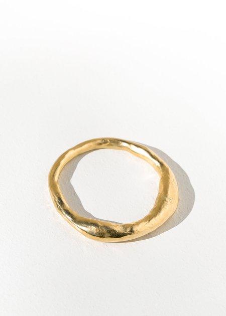 Takara Design Guana Bangle - gold