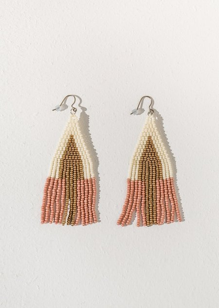 Of June Sunbeam Earring - Dusty Rose