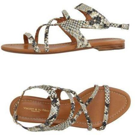 Visconti & Du Reau Oxford3 Sandals - Natural