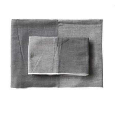 Morihata Two-Tone Chambray Towels