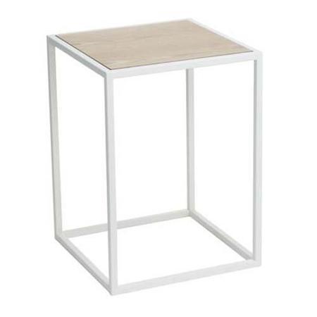 Yamazaki Home  Tower Square Coffee Table - White