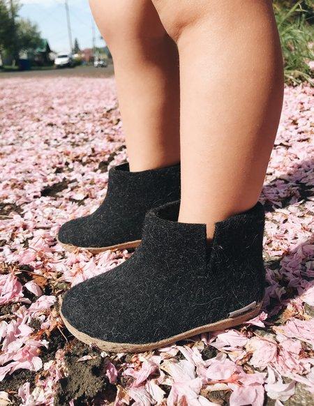 Kids  Glerups Wool Boots - Charcoal