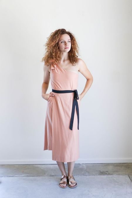 Heidi Merrick Bianca Dress - Blush