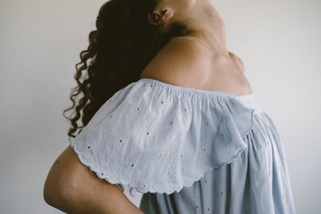 Maria Stanley The Lindsey Blouse - Sky