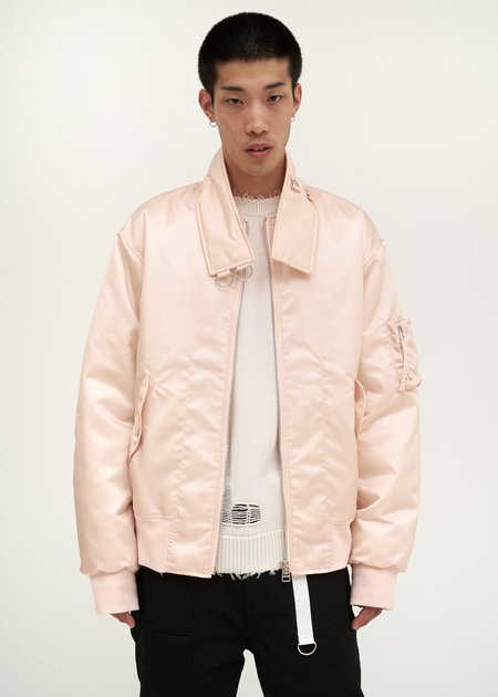 Helmut Lang Panel Neck Bomber - pale pink