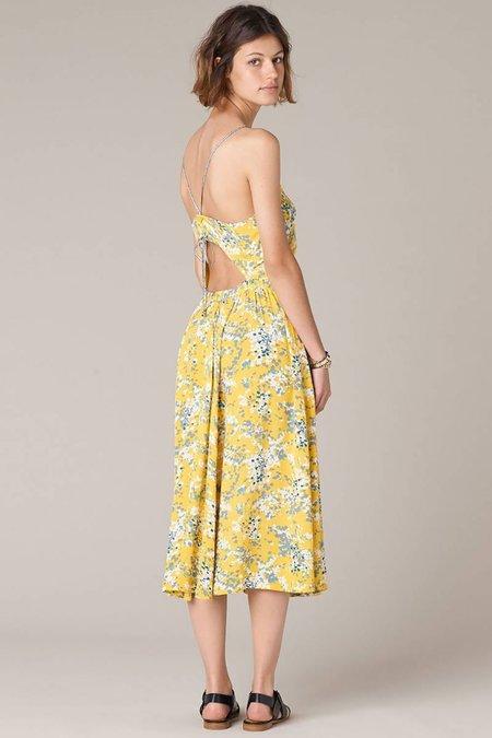 Sessun Aomori Dress - Sun Moss