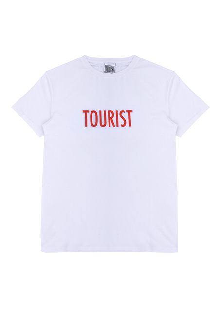 Unisex Vender The Tourist Tee - White