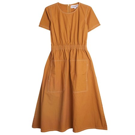 LF Markey Jarvey Dress - Chestnut