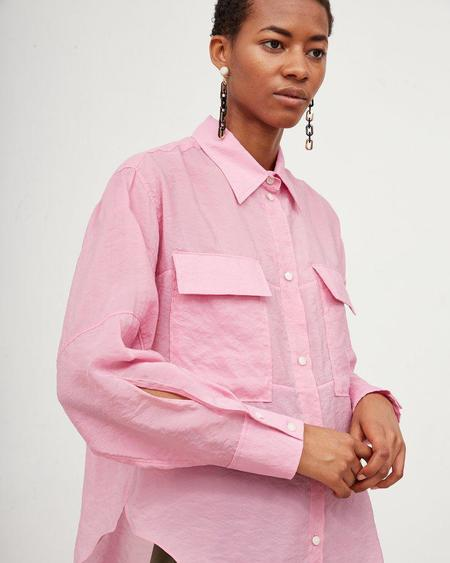 Rachel Comey Scotch Shirt - Pink