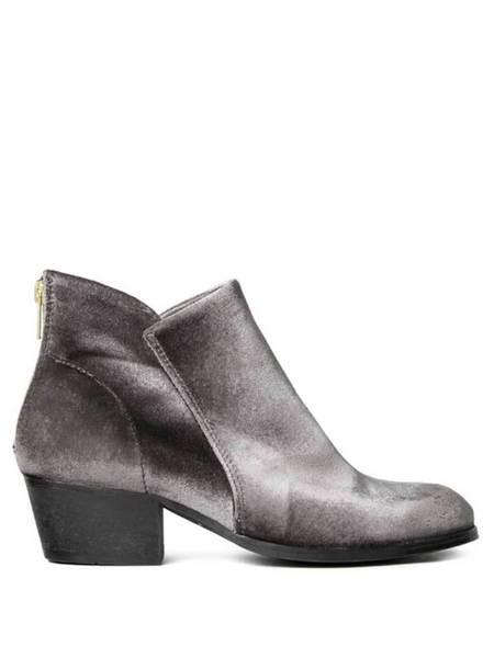 Hudson Apisi Velvet Boot - Grey