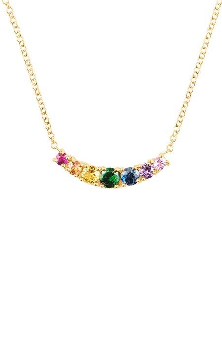 Carbon & Hyde Rainbow Cinderalla Necklace