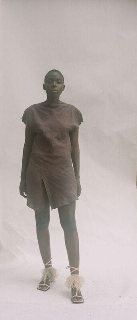 Kahle Open Back Dress