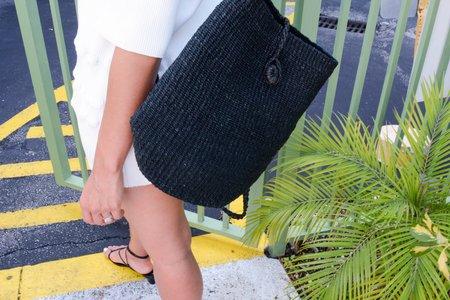 Abacá Malinao Backpack - Black
