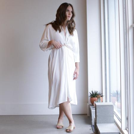 Miranda Bennett O'Keeffe Dress - White