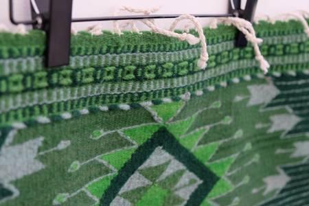 XYZ Cooperative Custom Oaxacan Triangle Bands Rug