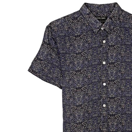 STITCHNOTE Linen Shirt - Navy