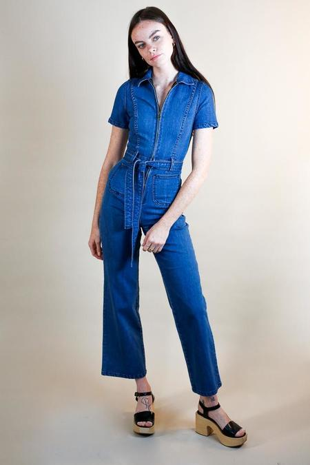 Rachel Antonoff Sal denim Jumpsuit - True Blue