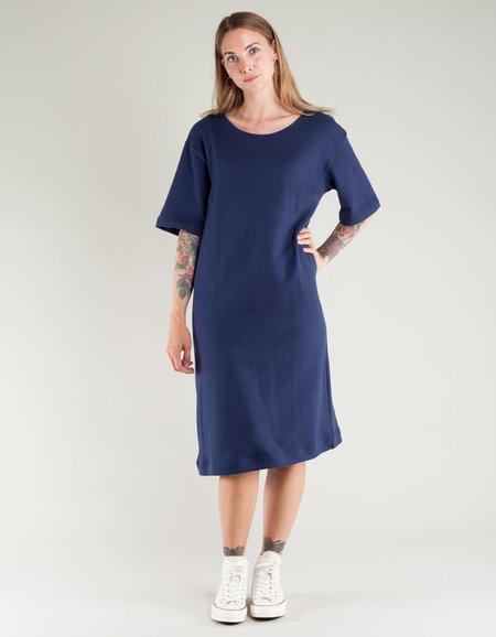 Sunja Link Knit Dress - Navy