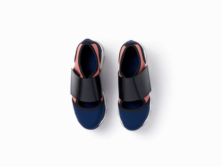 Marni Technical Sneakers - Blue/Pink