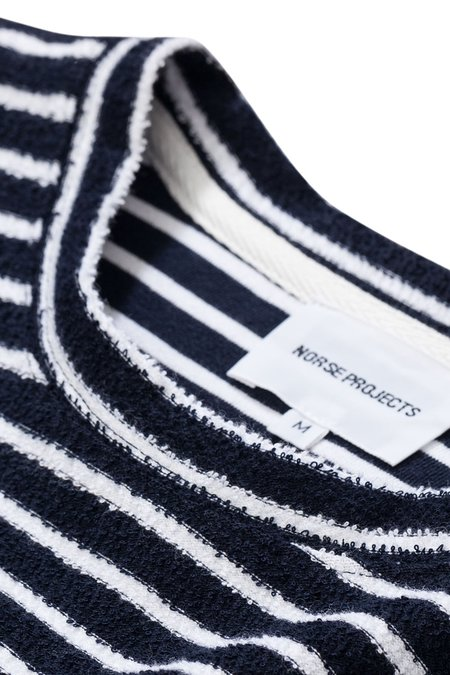 NORSE PROJECTS NIELS POCKET T-SHIRT - DARK NAVY
