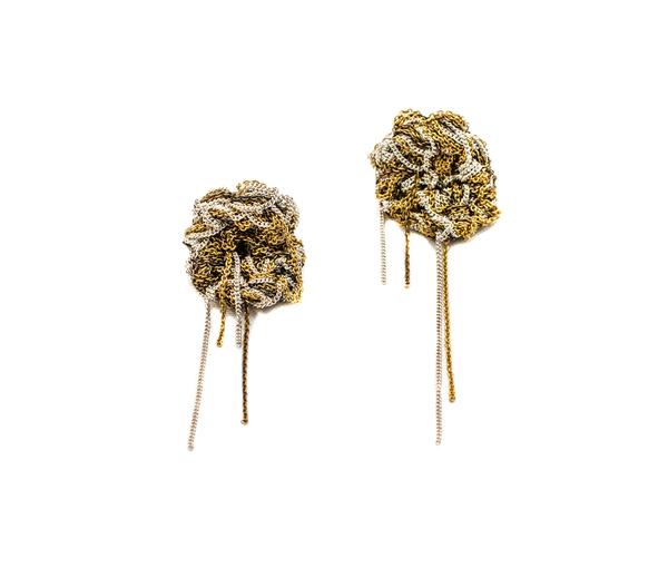Arielle de Pinto Blended Nugget Earrings