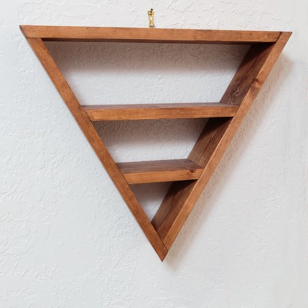 Skeleton Key Large Triangle Shelf