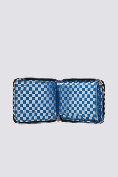 Comme des Garçons Leather Optical Wallet - Blue