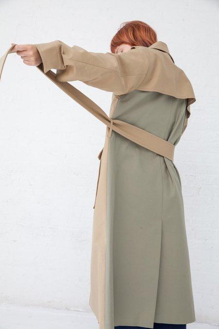 Rejina Pyo Avery Coat - Beige/Sage