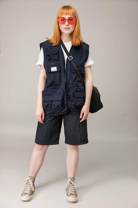 UNISEX Department.5 Berco Short - BLACK CHECK