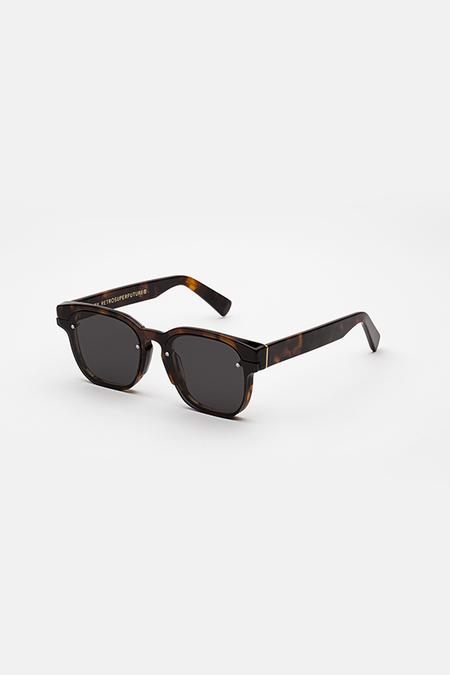 Unisex Retrosuperfuture Euclid Sunglasses - Havana