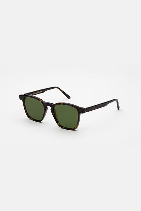 Unisex Retrosuperfuture Unico Sunglasses - Green