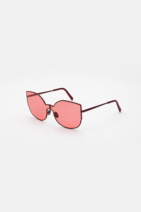 RetroSuperFuture LUCIA LENZ Sunglasses - Amaranth