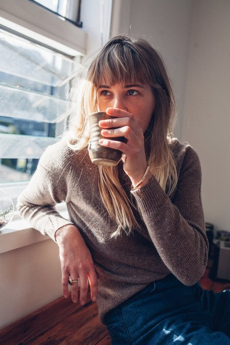 MARLE Maxen Sweater - Mink Motle